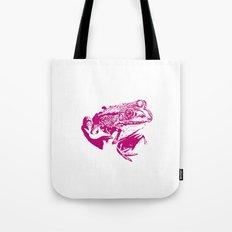 pink frog IV Tote Bag