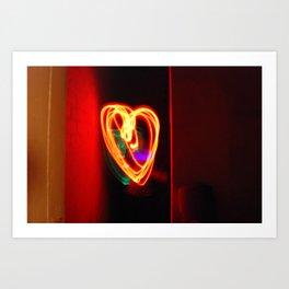 Light Love Art Print