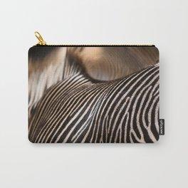 Zebra stripes Carry-All Pouch