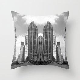 Twin City Throw Pillow