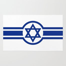 Eastern Israeli Belt Flag for the area of East of Israel Rug