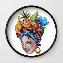 Carmen Miranda Wall Clock