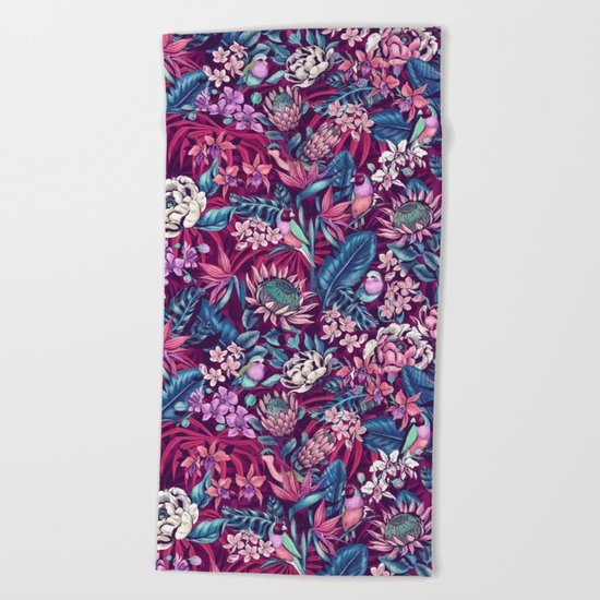 Stand Out! (ultraviolet) Beach Towel