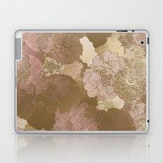 Pink Floral Hues Laptop & iPad Skin