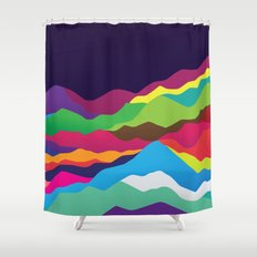 Mountains of Sand Shower Curtain