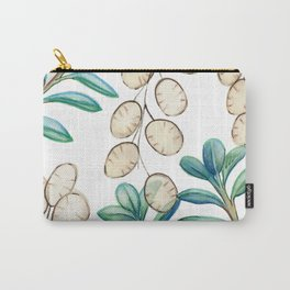 Silver Dollar Plant Carry-All Pouch