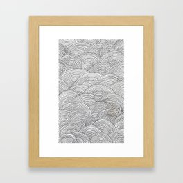 Curves Framed Art Print