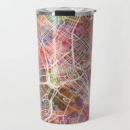 Dallas map 2 Travel Mug