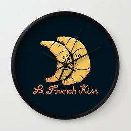 French Kiss 2.0 Wall Clock