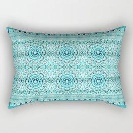 Minty Mandalas Rectangular Pillow
