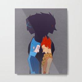 Lea & Isa- Duality Metal Print