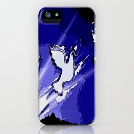Fly, fly away. iPhone Case