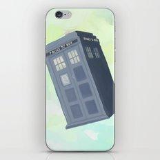 tardis sky iPhone & iPod Skin