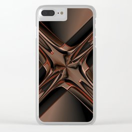 Abstract 350 Clear iPhone Case