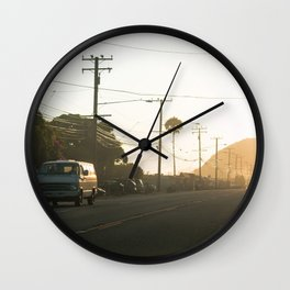 Van on PCH Wall Clock