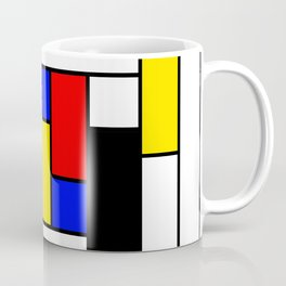 Mondrian Geometric Art 2 Coffee Mug