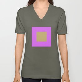 Minimalist Graphic Art Design Unisex V-Neck