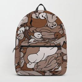 Chocolate Coffee Body Slugs Backpack