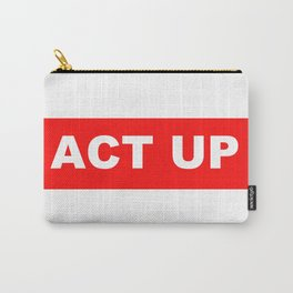 ACT UP Carry-All Pouch