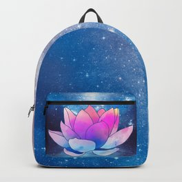 magic lotus flower Backpack