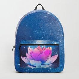 magic lotus flower Backpack