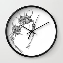 Spiked Nebula Pods (part of the Strange Plants series) Wall Clock