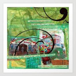 sideshow Art Print