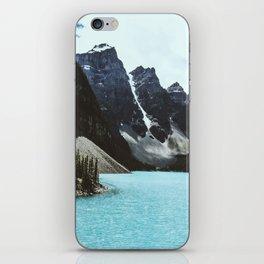 Lake Moraine landscape iPhone Skin