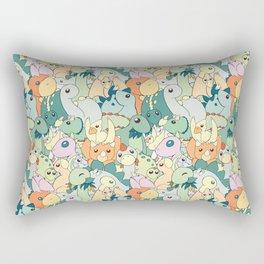 Cute Dino Pattern Rectangular Pillow
