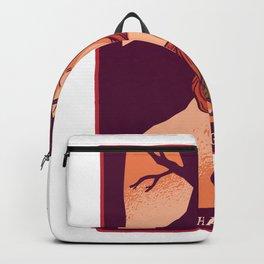 Der haengende Mann Backpack