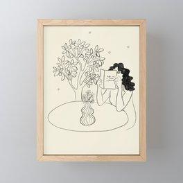Life is a Field of Flowers  Framed Mini Art Print