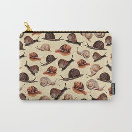 A Slew Of Snails Carry-All Pouch
