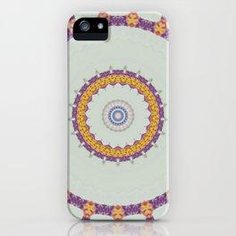 Hawaiian Diamond Header Mandala 5 iPhone Case