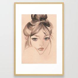 44 Framed Art Print