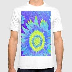 Sunflowers fantasy  #  # Mens Fitted Tee MEDIUM White