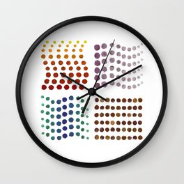 The Missing Element Wall Clock