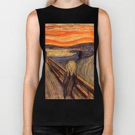 "Edvard Munch ""The Scream"", 1893 Biker Tank"