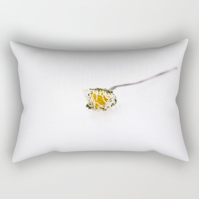 Dead daisy Rectangular Pillow