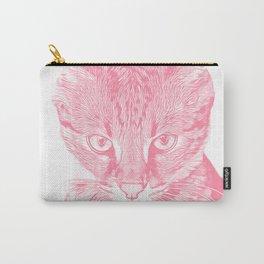 savannah cat portrait vapw Carry-All Pouch