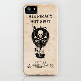 Air Pirate Hot Spot iPhone Case