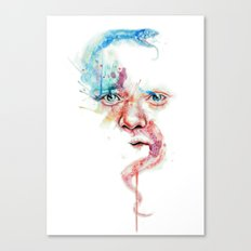 Hippocrates face Canvas Print