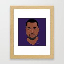 Hip Hop Portait Framed Art Print