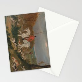 The Suffolk Hunt - John Frederick Herring Stationery Cards