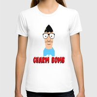 tina T-shirts featuring Charm Bomb  |  Tina Belcher  by Silvio Ledbetter