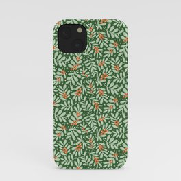 Christmas Berries iPhone Case