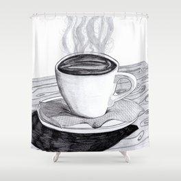 Sweet Coffee Shower Curtain