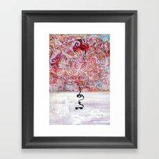 MiroCosmic StillLife Scene Framed Art Print