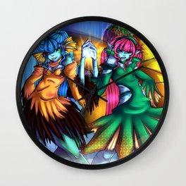 elementum sister Wall Clock