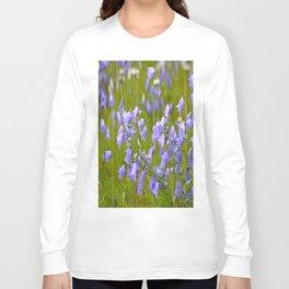 Bluebells Meadow #decor #society6 Long Sleeve T-shirt
