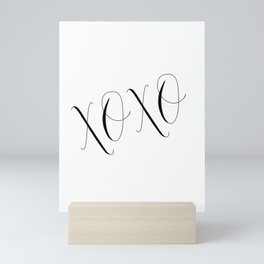 PRINTABLE Art, XOXO, Gossip Girl, Love Quote,Love Sign, kisses Print, Gift For Her, Gift For Him,Wal Mini Art Print